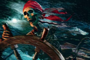 Pirate Cartoons Wallpaper