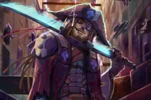 Pirate Cyberpunk