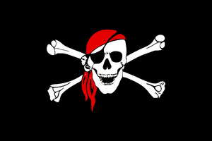 Pirate Flag Skull Wallpaper