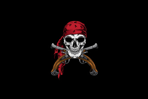 Pirate Skull 4k Wallpaper