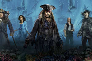 Pirates Of The Caribbean Dead Men Tell No Tales 4k Wallpaper