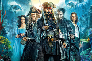 Pirates of the caribbean dead men tell no tales Movie Wallpaper