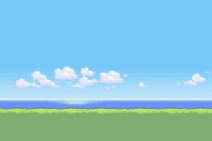 Pixel Art 2 Wallpaper