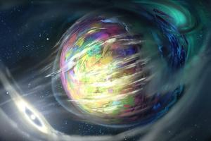 Planet Gases 4k Wallpaper