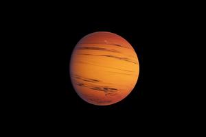 Planet Saturn 4k