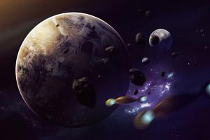 Planet Shakuras 4k Wallpaper