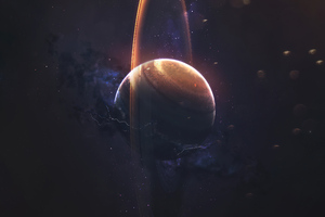 Planet Space Art 4k Wallpaper