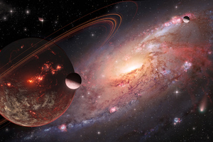 Planet Time Less 5k Wallpaper