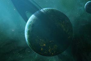 Planet World 4k Wallpaper