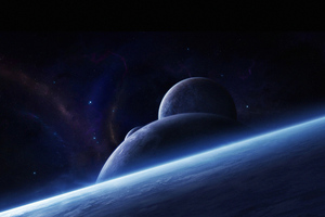 Planets Space Art 4k Wallpaper