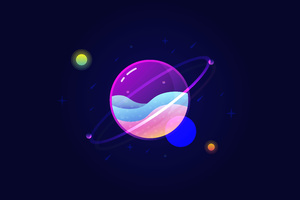 Planets Vector 10k