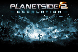Planetside 2 Escalation Wallpaper