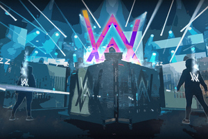 Play It Dj Alan Walker 4k Wallpaper