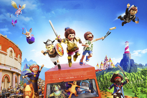 Playmobil The Movie 2019 4k Wallpaper