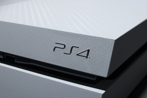 Playstation 4 Console Wallpaper