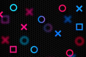 Playstation Abstract 4k
