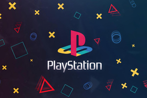 Playstation Logo Background 4k Wallpaper