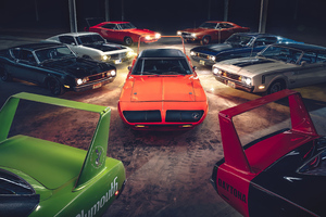 Plymouth Superbird Dodge Charger Daytona 4k Wallpaper