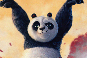 Po From Kung Fu Panda Wallpaper