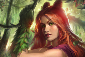 Poison Ivy Artwork