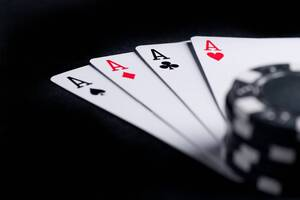Poker Chips And Cards Wallpaper