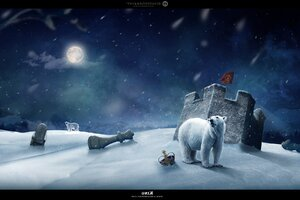 Polar Art Wallpaper