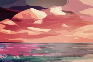 Polygon Art Abstract 4k Wallpaper