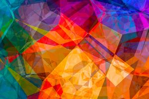 Polygon Colour Abstract 4k Wallpaper