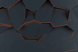 Polygon Material Design Abstract Wallpaper