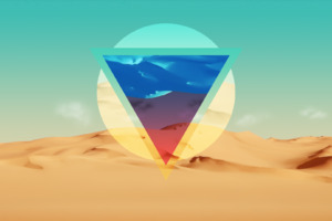 Polygon Triangle Artwork Wallpaper