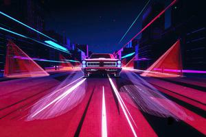 Pontiac Gto Evening Ride 4k Wallpaper