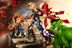 Pony Avengers Equestria Mightiest Heroes 5k