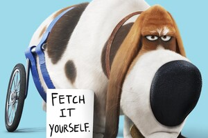 Pops The Secret Life Of Pets Wallpaper
