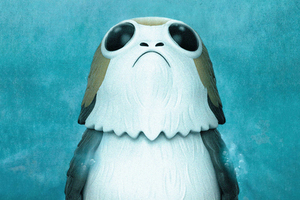 Porgs In Star Wars The Last Jedi Wallpaper