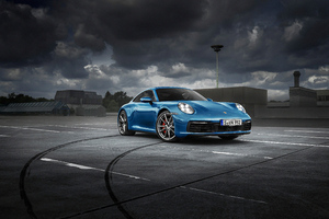 Porsche 4knew Wallpaper