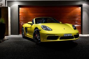Porsche 718 Boxster 4k Wallpaper