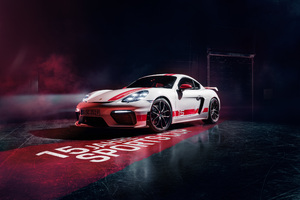 Porsche 718 Cayman GT4 Sports Cup Edition 2019 Wallpaper