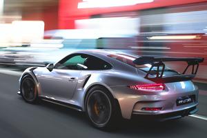 Porsche 911 4k Rear Wallpaper