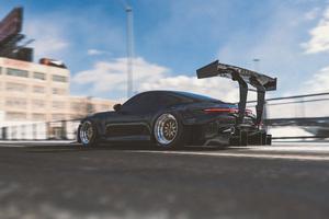 Porsche 911 992R 4k Wallpaper