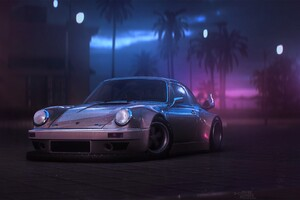 Porsche 911 Artwork Wallpaper
