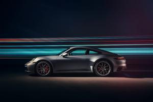 Porsche 911 Carrera 4S 2019 4K