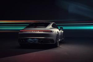 Porsche 911 Carrera 4S 2019 Rear