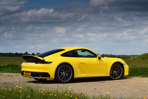 Porsche 911 Carrera 4s Yellow 2019 Wallpaper