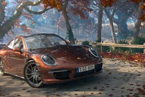 Porsche 911 Carrera Artwork