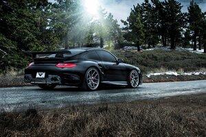 Porsche 911 Carrera Black Wallpaper