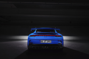 Porsche 911 GT3 2021 Rear Wallpaper