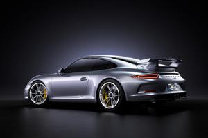 Porsche 911 GT3 4k Rear