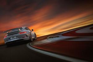 Porsche 911 GT3 RS 5k Rear