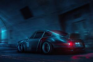 Porsche 911 Samurai Ride Cyberpunk 2077