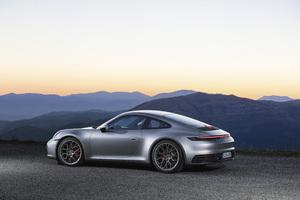 Porsche 911 Silver 2018 5k Wallpaper